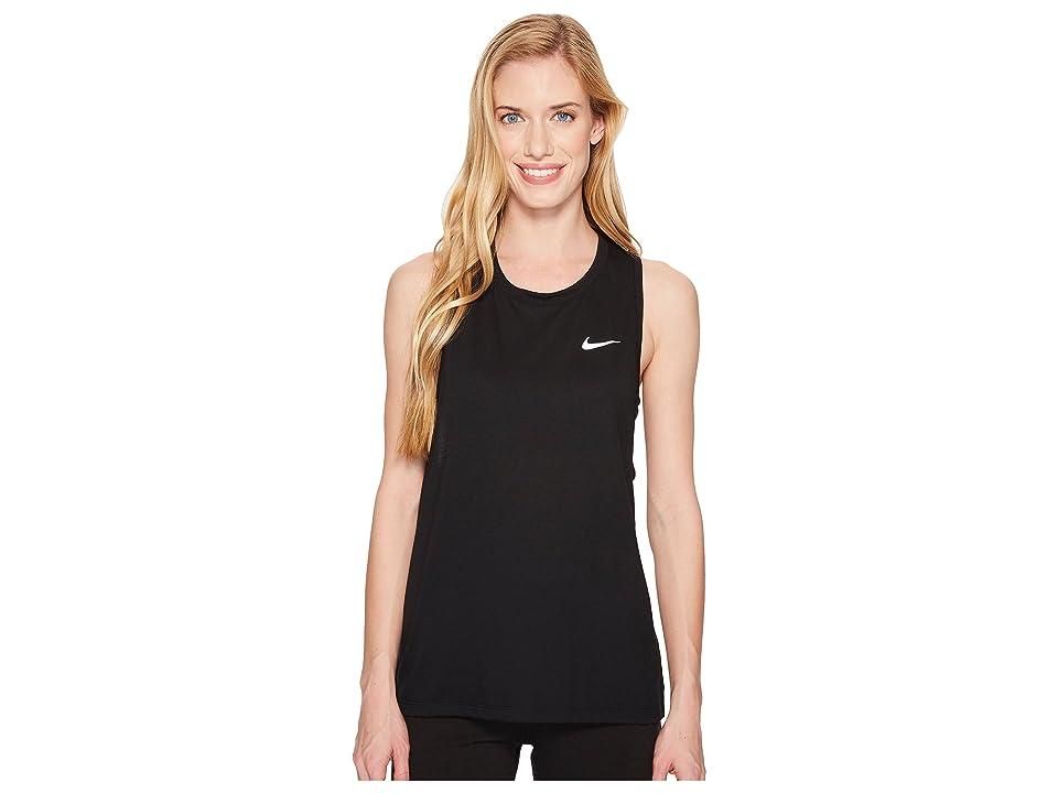 Nike Tailwind Running Tank (Black) Women