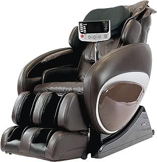 OSAKI OS-4000T Zero Gravity Heated Massage Chair, Brown