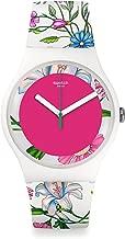 Swatch Women's Analogue Quartz Watch with Plastic Bracelet – SUOW127