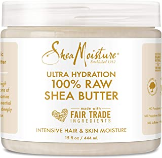 SheaMoisture All-Over Hydration Body Lotion for Dry Skin Raw Shea Butter Moisturizer 15 oz