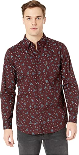 Long Sleeve TNL Paisley Print Shirt