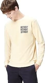 find. Men's Detroit Print Crew Neck Sweatshirt
