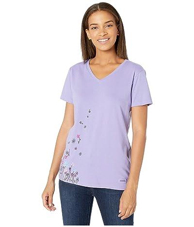 Life is Good Wildflower Breeze Crushertm Vee (Moonstone Purple) Women
