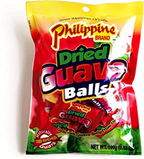 Philippine Brand Dried Guava Balls 3.53 oz each (1 Item Per Order)
