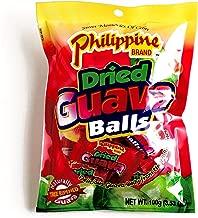 Philippine Brand Dried Guava Balls 3.53 oz each (3 Items Per Order)