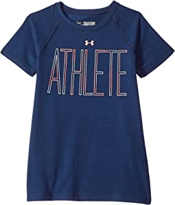 Under Armour Kids - UA Athlete Short Sleeve Tee (Big Kids)