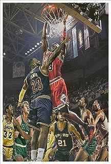 16×24inch Basketball Sports Superstar Modern Wall Art...