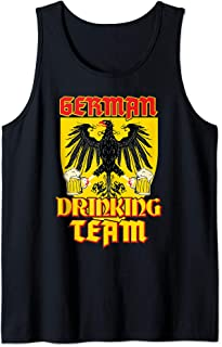 German Drinking Team Germany Flag Funny Oktoberfest Gift Tank Top