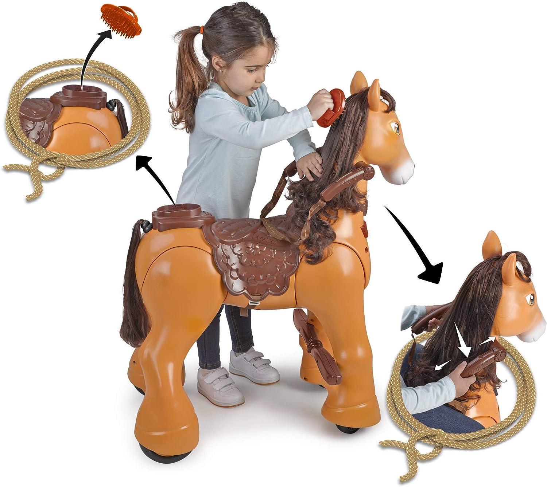 Elektronisches Spielzeughaustier F/ür Kinder von 3 bis 6 Jahren My Lovely Llama FEBER 800012442
