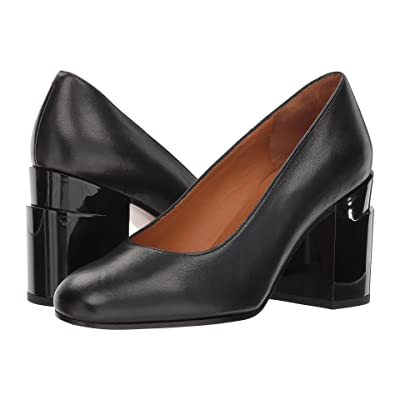Clergerie Kenneth (Black Nappa Leather) High Heels