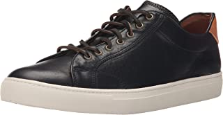 FRYE Men's Walker Low Lace Fashion Sneaker, Black, 11 M US