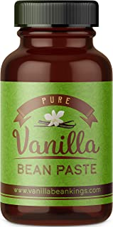 Gourmet Vanilla Bean Paste for Baking and Cooking - Gourmet Madagascar Bourbon Blend made with Real Vanilla Seeds - 4 Ounces