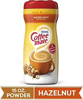 COFFEE MATE Hazelnut Powder Coffee Creamer 15 Oz. Canister | Non-dairy, Lactose Free, Gluten Free Creamer