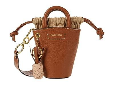 See by Chloe Cecilia Shoulder Bag (Caramello) Handbags