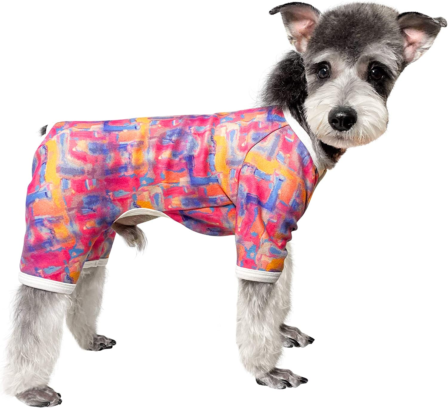 Topkins Max 46% OFF Button Dog Pajamas specialty shop Soft Stretchable The Coat