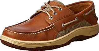 حذاء Sperry Mens Billfish 3-Eye Boat Shoe, Dark Tan, 7