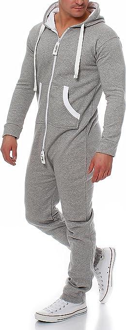 Damen Jumpsuit 9T5 mit Baumwolle Jogginganzug Trainingsanzug Einteiler Overall