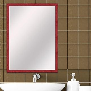 Elegant Arts and Frames Decorative Wooden Framed Wall Mirror (Mirror Size 14 inch x 10 inch) Dressing Mirror, Bathroom Mirror