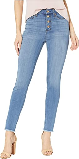 Bridget High-Rise Ankle Skinny Button Fly in Ridgeway Grind