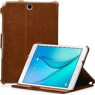 Funda para Samsung Galaxy Tab A 9.7 SM-T555- Función soporte - EasyStand y CleverStrap - Marrón MANNA