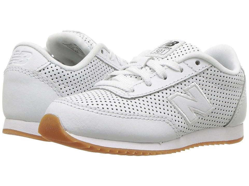 New Balance Kids KZ501v1I (Infant/Toddler) (White/White) Kids Shoes