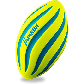 Franklin Sports Foam Football - Perfect for Practice and Backyard Play – Best for First-Time Play and Small Kids – Spiral Football - 9 inches