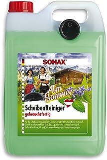 SONAX Ruitenreiniger gebruiksklaar AlmZomer (5 L) Trendy reiniger met unieke geurervaring, bergkruiden, voor de ruitenspro...
