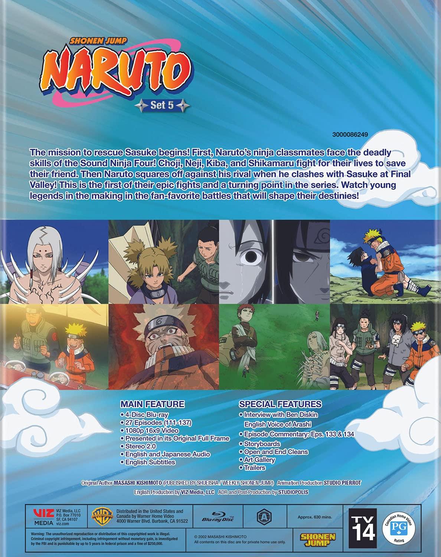 Naruto: Set 5 (Blu-ray)