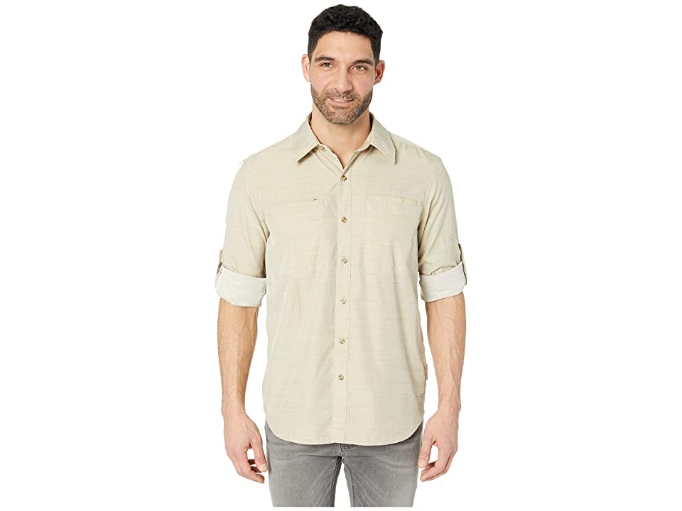 ExOfficio BugsAway(r) San Gil Long Sleeve Shirt (Light Khaki) Men