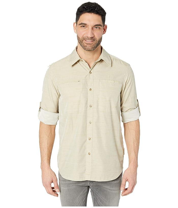 ExOfficio BugsAway(r) San Gil Long Sleeve Shirt (Light Khaki) Men