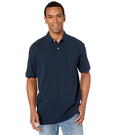 Tommy Hilfiger Ivy Polo Shirt Classic Fit (Navy Blazer) Men