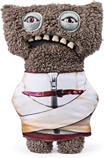Fugglers, Funny Ugly Monster, 9 Inch Gnawing Terror (Gray) Plush Creature with Teeth, for Ages 4 and Up