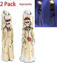 2Pack Halloween Party Table Decorations Light Up 11.8