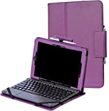 i-unik CASE for RCA 10 Viking Pro 10.1 & Compatible RCA 10 Viking II Tablet PC [NOT FIT 2019 Model] - (Purple)