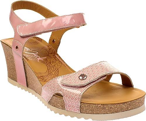 PANAMA JACK Julia Snake - Damen Schuhe Sandaletten - b2-charolRosa b2-charolRosa b2-charolRosa  Online einkaufen