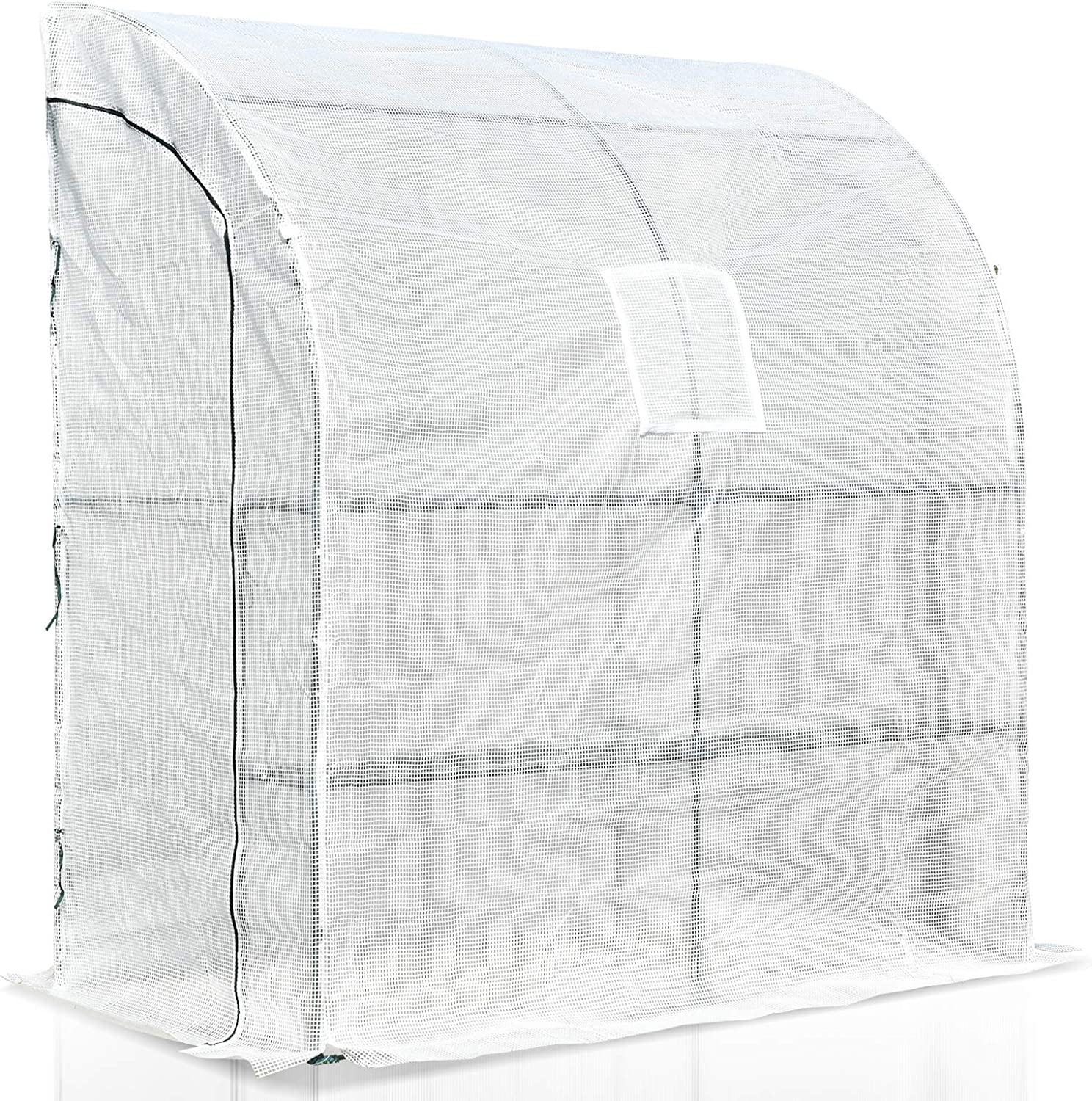 Outsunny 7' x 3' Outdoor Walk-in In a popularity Greenhous Gardening Free shipping Tunnel