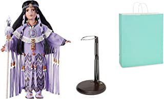 Calfuray American Indian Doll with Stand and Gift Bag ( 3 Item Bundle )