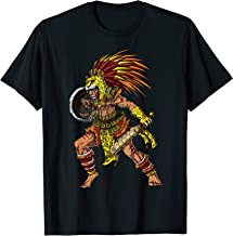 Aztec Jaguar Warrior Native Mexican T-Shirt