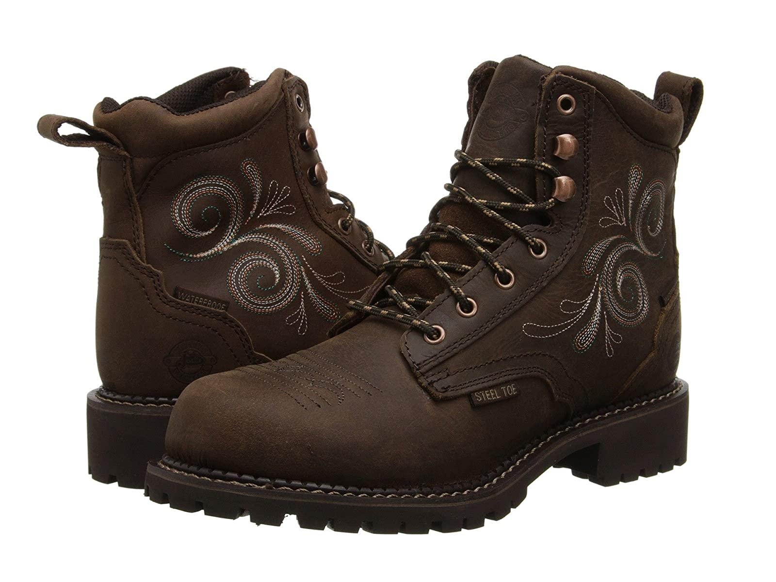 """Justin Katerina 6"""" Waterproof Steel ToeAffordable and distinctive shoes"""