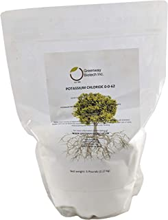 Potassium Chloride 0-0-62 Muriate of Potash 100% Water Soluble Fertilizer