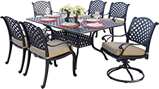 Best cast aluminum 7 piece dining set Reviews