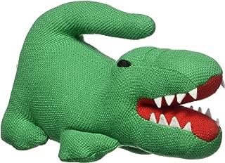 Lacoste Boys Baby Stuffed Croc Toy, Coriander, 12M