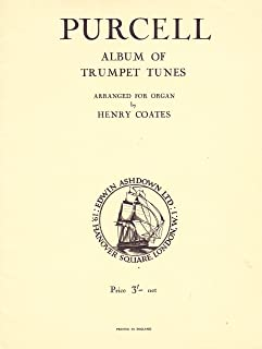 Album of Trumpet Tunes ~ Arranged for Organ by Henry Coates