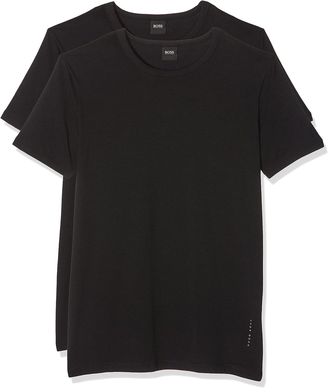 Shirt VN Uni S-XXL-NOIR ou BLANC Hugo Boss 2 Pack Slim Fit V-Neck T-Shirt