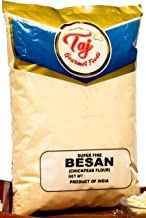 TAJ Premium Indian Besan Flour Super-Fine (Chick Pea, Gram Flour), (4-Pounds)