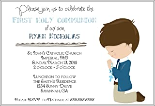 Best invitation for first communion to print free Reviews