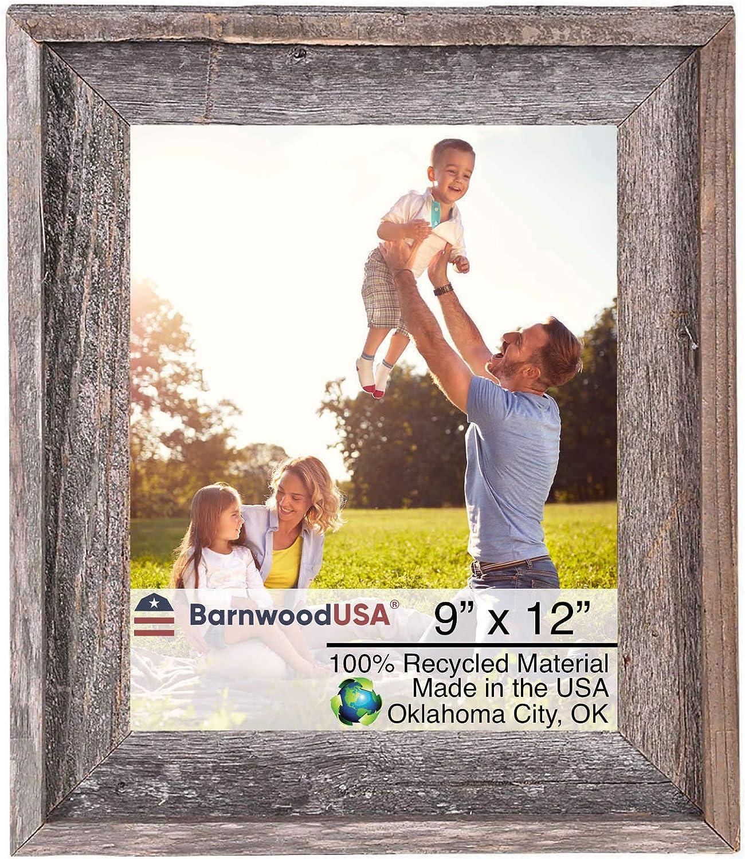 BarnwoodUSA Farmhouse Style Rustic 9x12 Signat Frame Houston Mall lowest price Picture