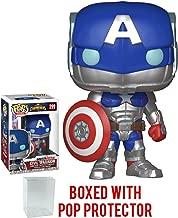 Funko Pop! Games: Marvel Contest of Champions - Civil Warrior Vinyl Figure (Bundled with Pop Box Protector Case)