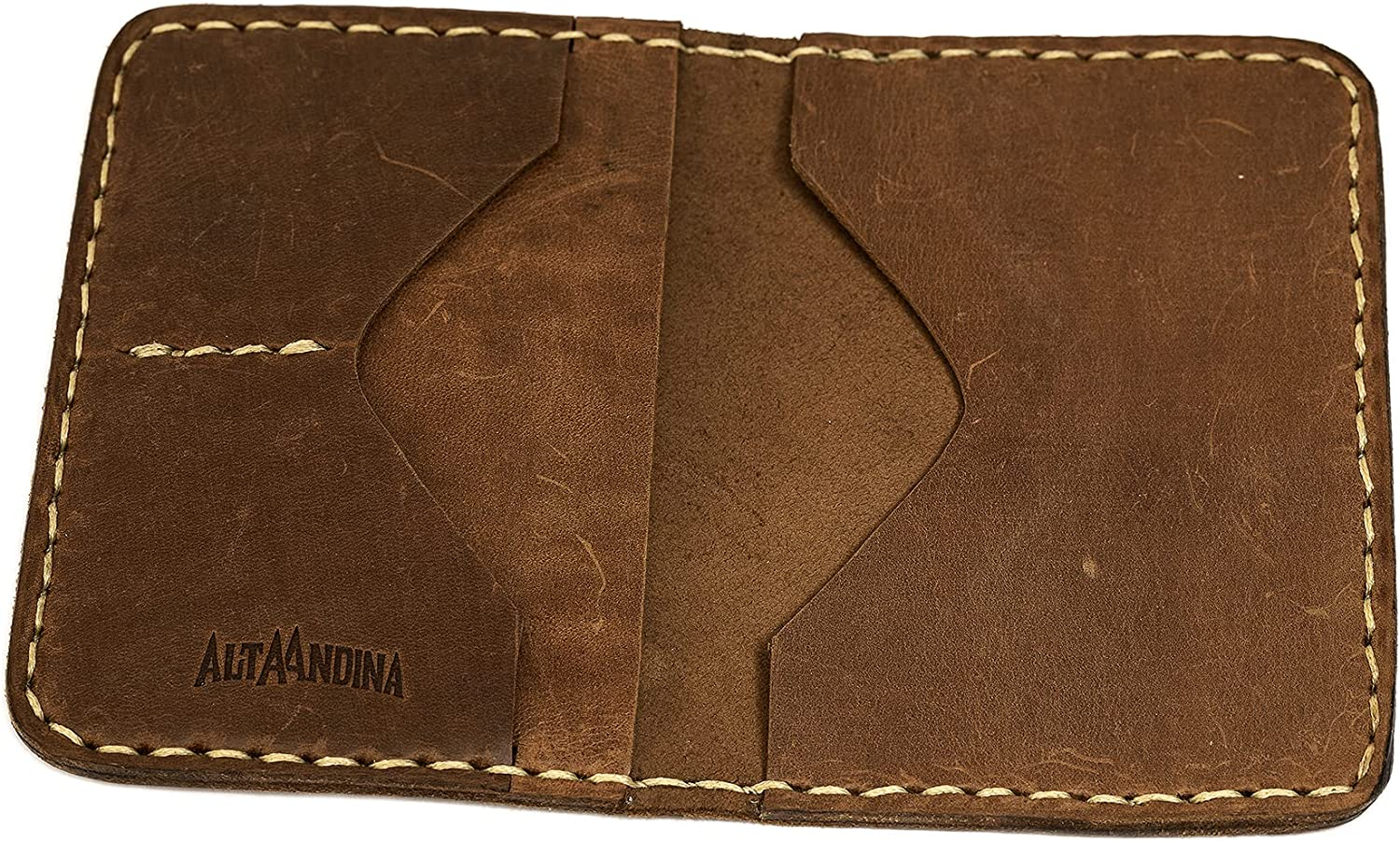 Alta Kansas City Mall Andina Leather Passport Travel Tanned Wallet Le Max 48% OFF Vegetable