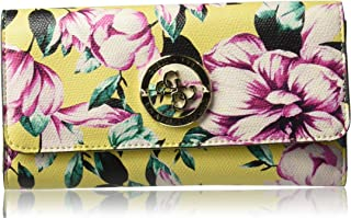 GUESS womens Landon Floral Multi Clutch Wallet